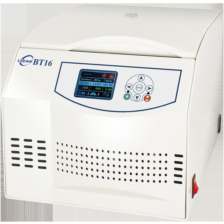 Benchtop Microprocessor High Speed Centrifuge BT16